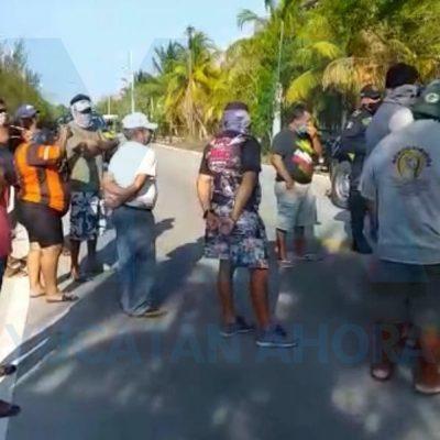 Amenazan con quemar a residentes estadounidenses en el puerto de San Crisanto