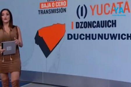 Dzoncauich, de municipio de la esperanza a trabalenguas en televisión nacional