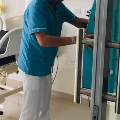 Fallece joven enfermero de hospital privado