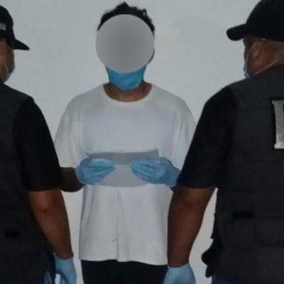 Detienen a cobratario por feminicidio agravado en Umán