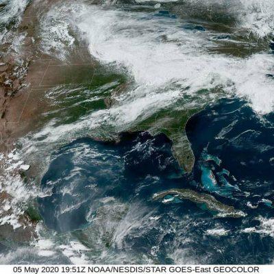 Se espera lluvia fuerte en el oriente y sur de Yucatán: Procivy pide estar alertas