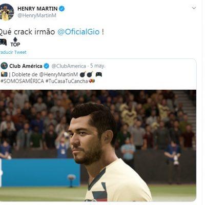 Gío dos Santos y el Henry Martín virtual, encendidos en la eLigaMX