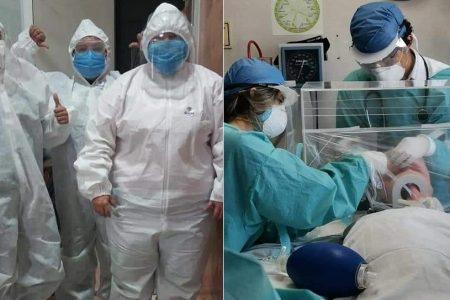 Trabajadores de la salud de Yucatán, listos para lo más crítico del Covid-19