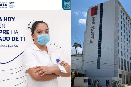 Personal de salud tendrá hospedaje gratis durante la contingencia de Covid-19