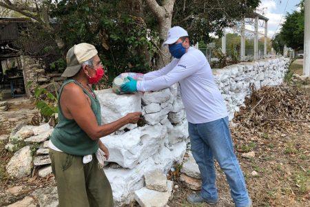 El Gobierno de Yucatán continúa con la distribución de apoyos alimentarios