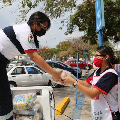 Gobierno mantiene acciones de apoyo alimentario en favor de los yucatecos