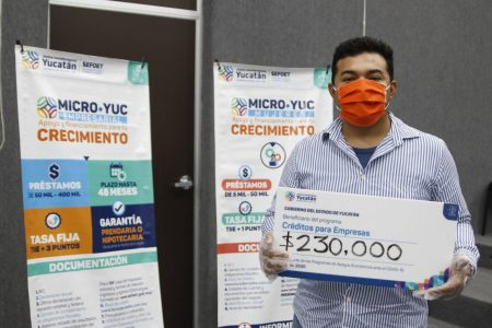 Créditos Microyuc llegan a más yucatecos en estos días de Covid-19