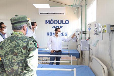 El hospital provisional en Valladolid, listo para entrar en operación