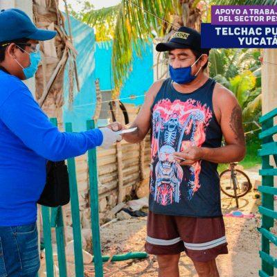 Un millón de yucatecos beneficiados con programas de apoyo por el Covid-19