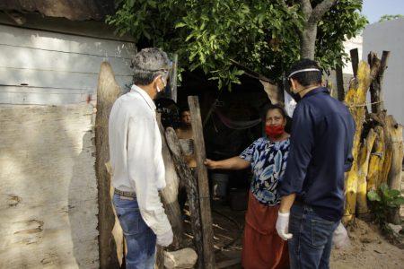 Inicia tercera semana de entrega de apoyos en el sur de Yucatán