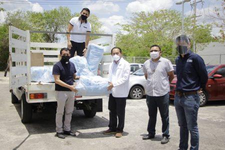 Arquidiócesis de Yucatán dona insumos médicos para el Hospital General de Tekax