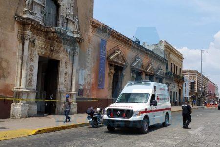Fallece en un banco del centro de Mérida