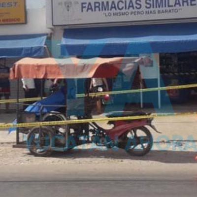 Fallece en un mototaxi que lo llevaba a consulta médica en Kanasín