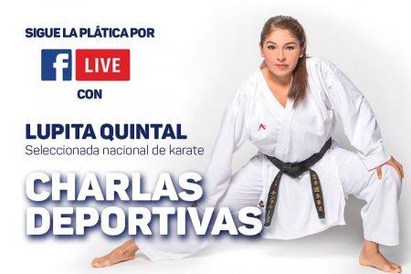 La karateca Lupita Quintal tendrá una charla en vivo a través del IDEY