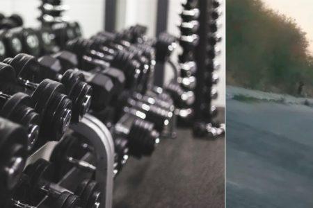Denuncian gimnasio que ofrece entrenamientos a puerta cerrada, en la Alemán