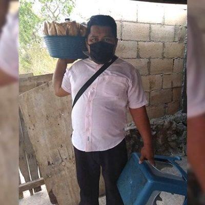 Vendedor de platanitos clama por ayuda ante la crisis del Covid-19