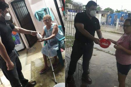 Ciudadanos apoyando a ciudadanos en Kanasín, ante la insensibilidad del alcalde