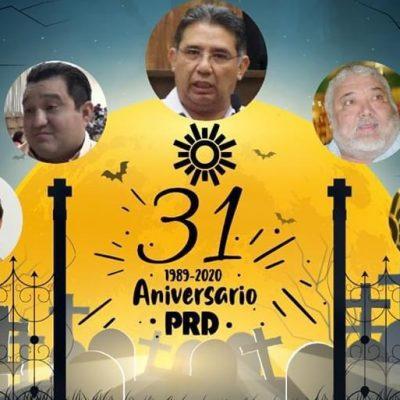 El PRD de Yucatán, sin nada que celebrar a 31 años de su fundación