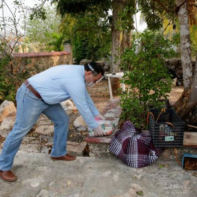 Abuelitos meridanos recibirán doble despensa del DIF de Mérida