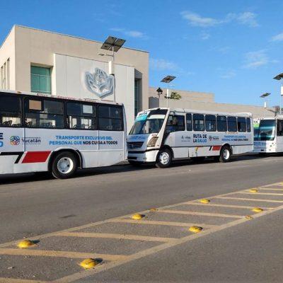 Arranca la Ruta de la Salud, de transporte gratuito para personal de salud
