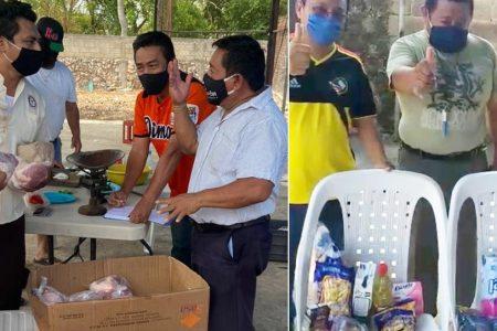 Taxistas de la ruta Mérida-Umán reciben apoyo para resistir al Covid-19