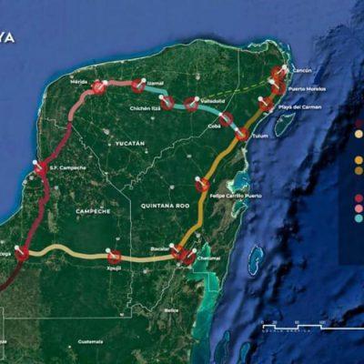 CNDH ordena suspender las labores del Tren Maya por la contingencia del Covid-19