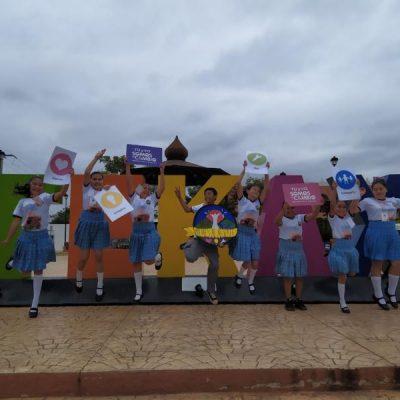 Estudiantes de Tekax ganan concurso nacional sobre atractivos turísticos