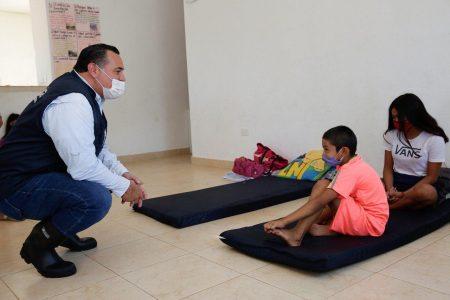 'Mérida nos Une' agiliza la ayuda para los damnificados de Cristóbal en el municipio