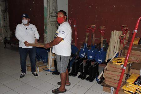 Ayuntamientos reciben herramientas para atender afectaciones por Cristóbal