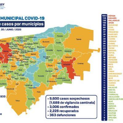 Covid-19 abarca más zonas de Yucatán: Ixil y Sucilá ya tienen sus primeros casos