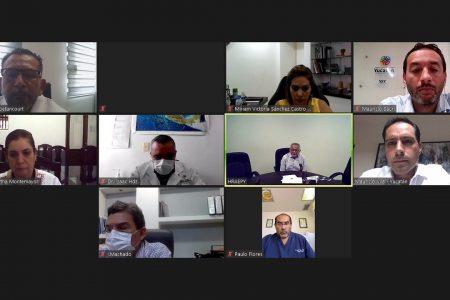 Mauricio Vila se reúne con directores de hospitales federales en Yucatán