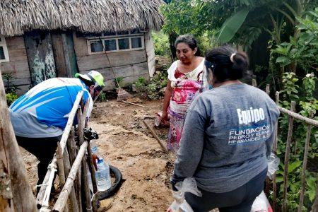 Fundaciones apoyan a poblados afectados por la tormenta tropical Cristóbal