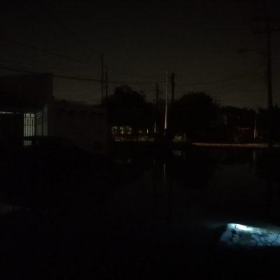 Sin luz desde anoche en Jardines del Norte