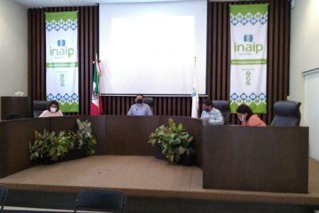 Aprueba el Inaip Yucatán políticas de transparencia proactiva