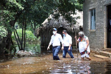 Llegan apoyos urgentes a las comunidades más dañadas por la tormenta Cristóbal