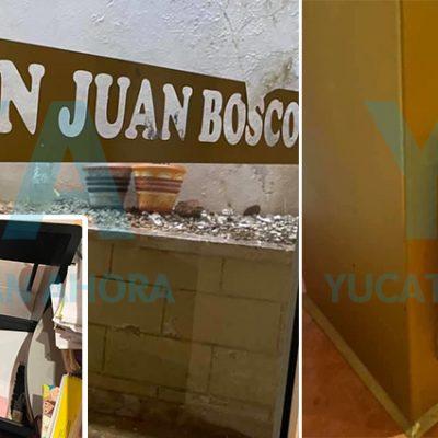 Roban en la iglesia de San Juan Bosco en la Miraflores