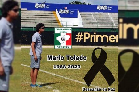 Pesar en el medio deportivo por la muerte de Mario Toledo