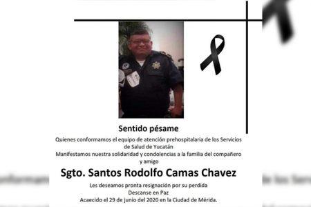 Fallece por Covid-19 paramédico de la SSP