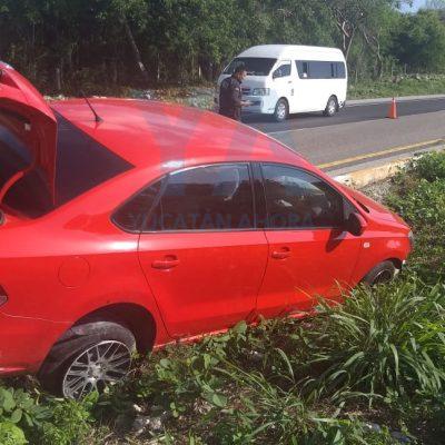Accidentada entrada a Mérida de padre e hijo procedentes de Campeche