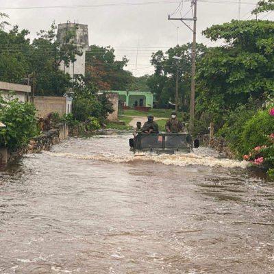 Que la lluvia no te haga olvidar que estamos en contingencia de Covid-19