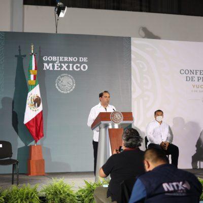 Mauricio Vila pide a AMLO que se revisen las tarifas de la CFE en Yucatán