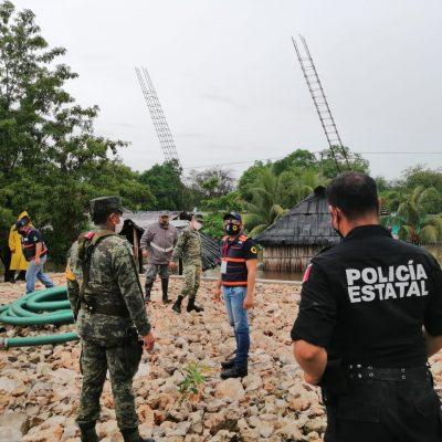 Mantienen vigilancia en Yaxcabá tras histórica inundación por Cristóbal