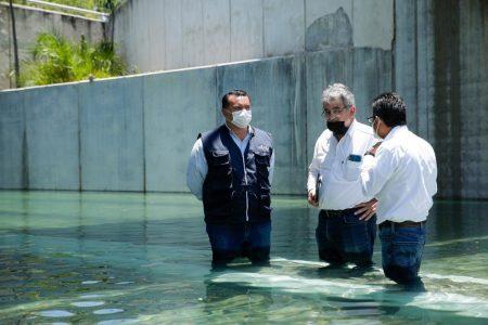 Seguirá cerrado el paso a desnivel de Prolongación Montejo, al menos una semana más
