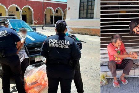 Liberan a sujeto que les roba dinero a los indigentes en Mérida