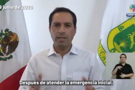 Anuncian apoyo alimentario y de 2,500 pesos en las zonas damnificadas por Cristóbal