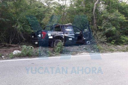 Patrulla de Tekantó atropella en carretera a un ciclista de 78 años