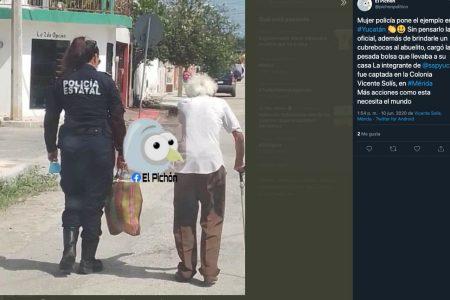 Con inesperada acción, policías se llevan las palmas en la Vicente Solís