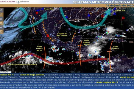 Toma tus precauciones: pronostican que será un domingo lluvioso