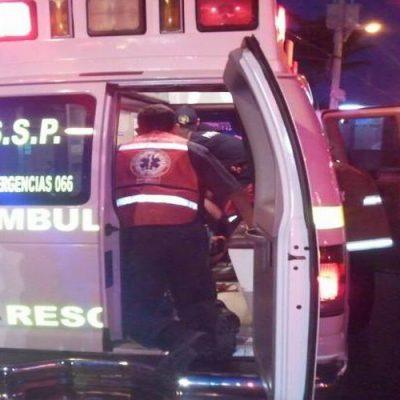 Fallece en una ambulancia una mujer de 36 años que era llevada a la T-1