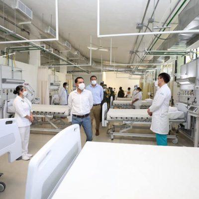 En Yucatán por el momento todavía tenemos capacidad hospitalaria: Mauricio Vila